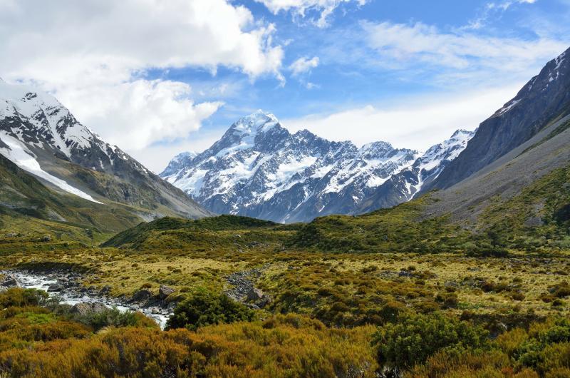 Christchurch: An die Ostküste von Neuseelands Südinsel reisen