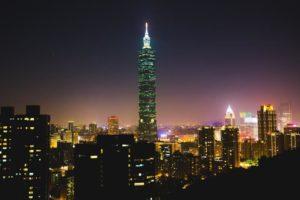 Taipeh: Wolkenkratzer, soweit das Auge reicht