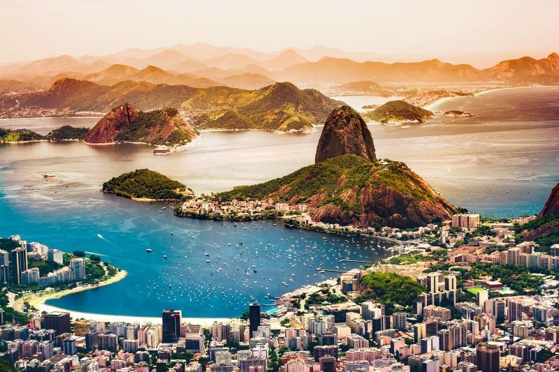 Rio de Janeiro: Sonne, Strand und Meer an der Copacabana